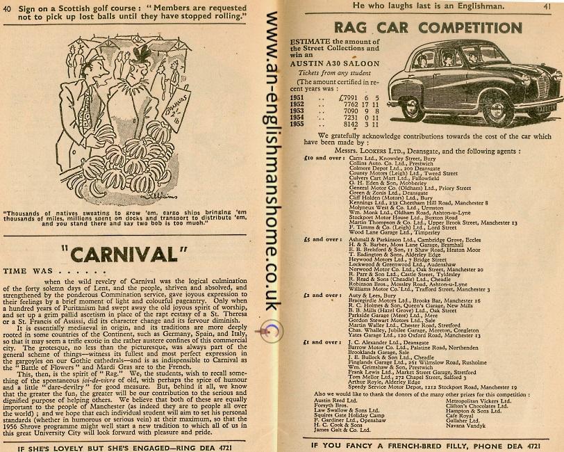 Manchester Rag 1956